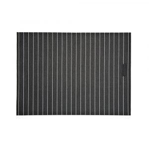 Ørskov Lounge Stripe Pöytätabletit Musta / Offwhite