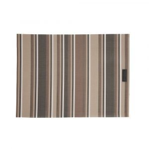 Ørskov Lounge Stripe Pöytätabletit Ruskea