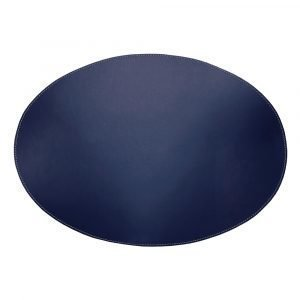 Ørskov Pöytätabletti Oval Sininen 35x48 Cm