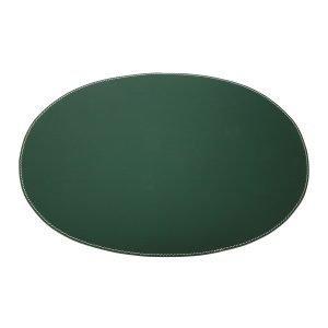 Ørskov Pöytätabletti Oval Tummanvihreä 35x48 Cm