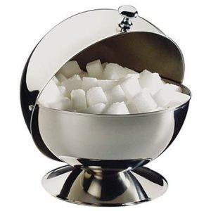 APS Teräksinen kannellinen sokerikko