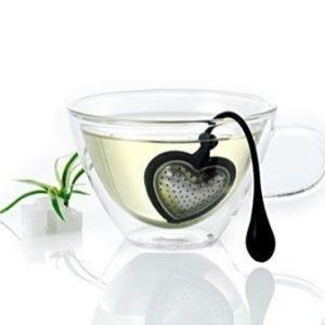 AdHoc TEA HEART - Iso sydämenmuotoinen teesiivilä