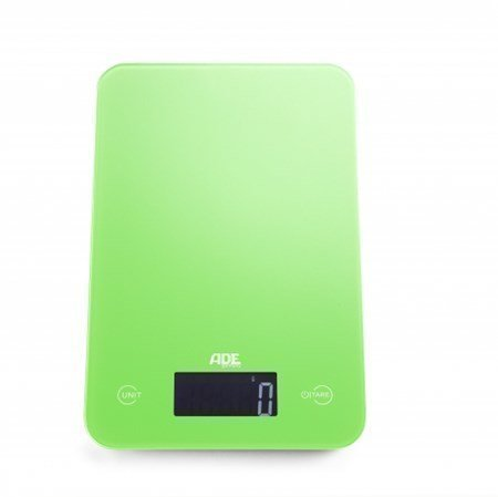 Ade Slim vihreä digitaalinen keittiövaaka