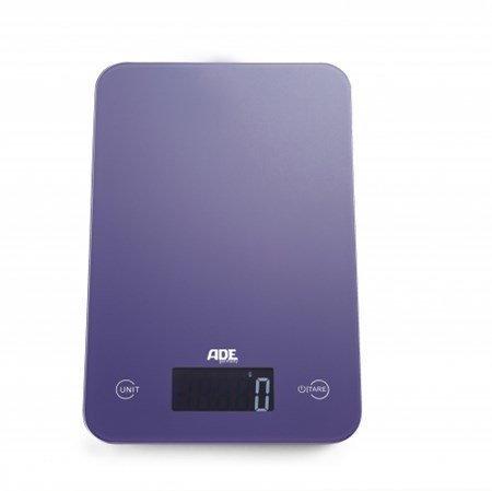 Ade Slim violetti digitaalinen keittiövaaka