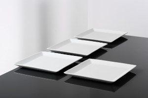 Aida Aroma Square lautanen 22 x 22 cm 4-pack