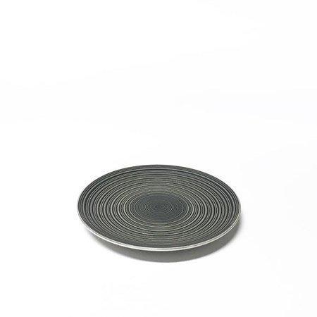 Aida Circle stoneware lautanen harmaa 20