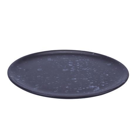 Aida Raw Lautanen Ø 20 cm Musta Pilkullinen