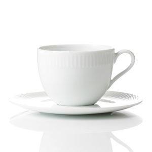 Aida Relief Kahvikuppi Valkoinen 20 Cl 4-Pakkaus