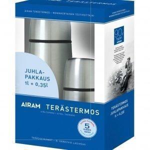 Airam Terästermos 1 L + 0