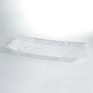 Alessi Bark Centerpiece Valkoinen