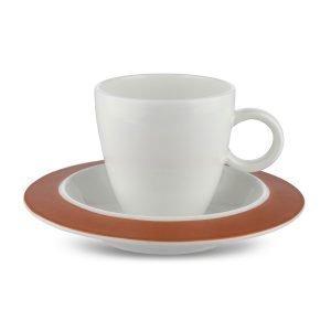 Alessi Bavero Espressokuppi Ja Aluslautanen 2-Pakkaus