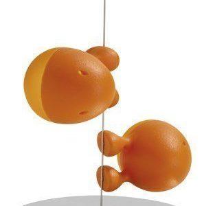Alessi Lilliput Suola- & Pippurisirotin Oranssi