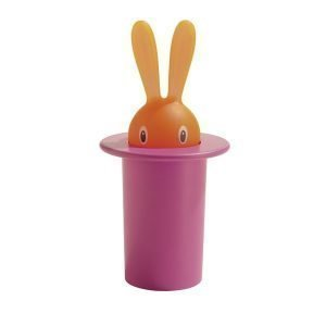 Alessi Magic Bunny Hammastikkuteline Roosa