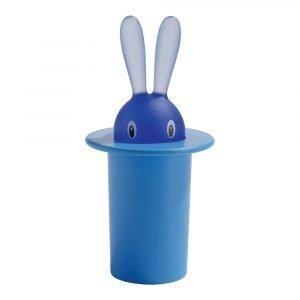Alessi Magic Bunny Hammastikkuteline Sininen