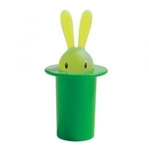 Alessi Magic Bunny Hammastikkuteline Vihreä