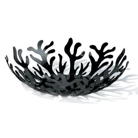 Alessi Mediterraneo Hedelmäkulho Ø 21 cm Musta