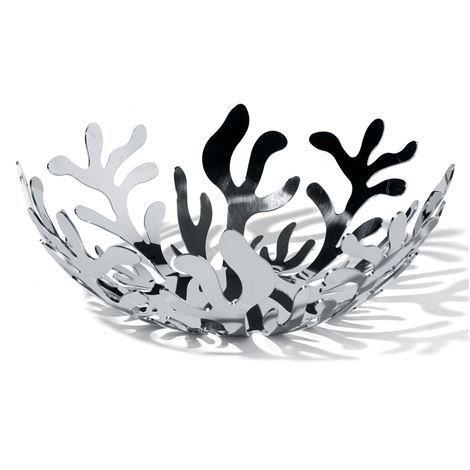 Alessi Mediterraneo Hedelmäkulho Ø 21 cm Ruostumaton Teräs