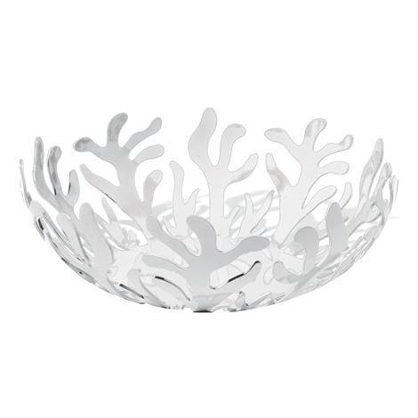 Alessi Mediterraneo Hedelmäkulho Ø 21 cm Valkoinen