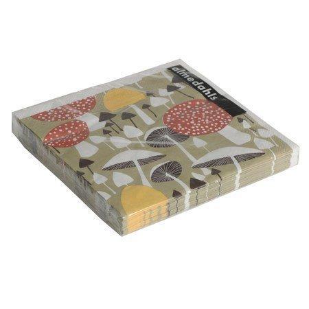 Almedahls I svampskogen paperiservetti