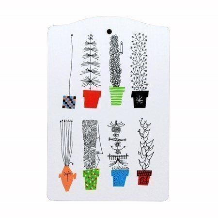 Almedahls Italialainen kukkapenkki Leikkuulauta 30 x 20 cm