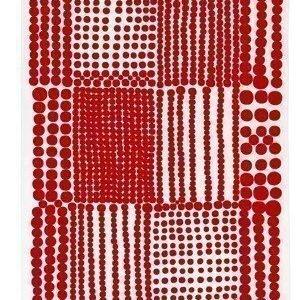Almedahls Pricktyg keittiöpyyhe punainen