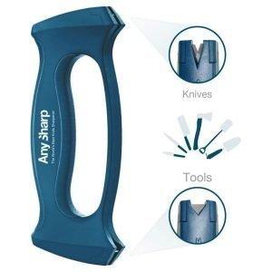 AnySharp Multi Sharpener työkalu- ja veitsenterotin