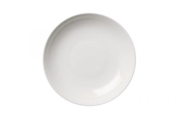 Arabia 24 H Lautanen Syvä Posliini Valkoinen 24 Cm