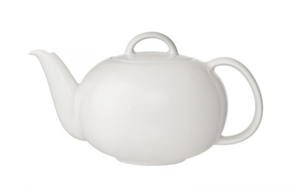 Arabia 24 H Teekannu Posliini Valkoinen 1.2 L