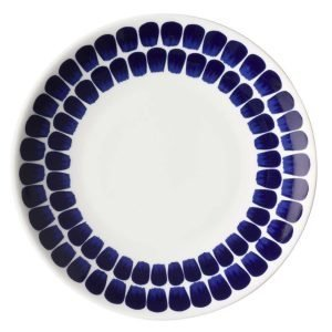 Arabia 24h Lautanen Tuokio Sininen / Valkoinen 20 Cm