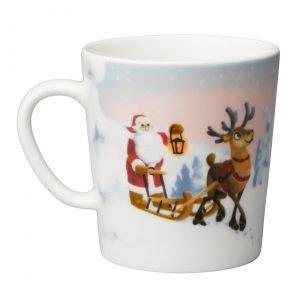 Arabia Santa Claus Kuusipuu Muki 3 Dl