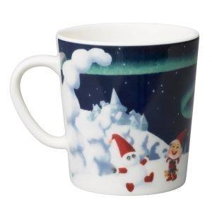 Arabia Santa Claus Lumiukko Muki 3 Dl