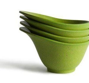 Architec Serveringsskål Purelast Mini 4-pack Grön