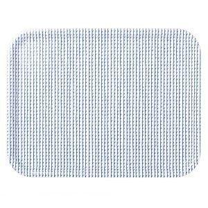 Artek Rivi Tarjotin Valkoinen / Sininen 43x33 Cm