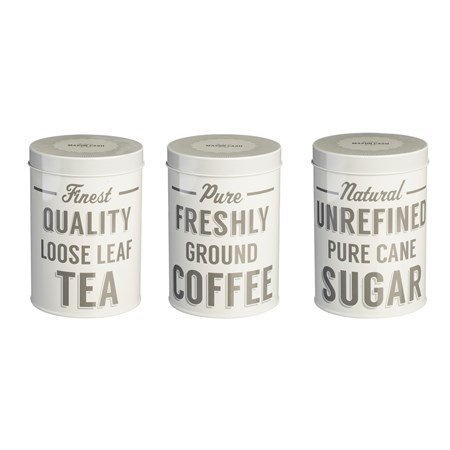 BAKER STREET SET OF 3 TEA