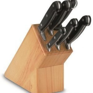BOJ Veitsitukki 6 veitselle puinen