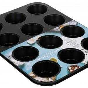 Baking By Martinex Muffinssivuoka Musta 12 Kpl