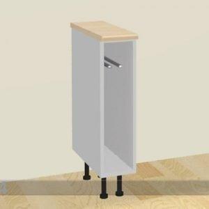 Baltest Mööbel Käsipyyhekaappi 15 Cm