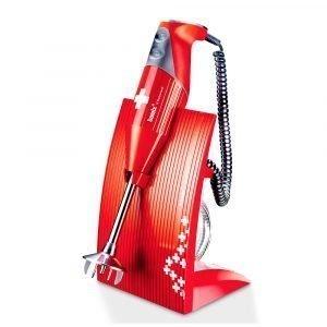Bamix Swissline 200w Sauvasekoitin Punainen