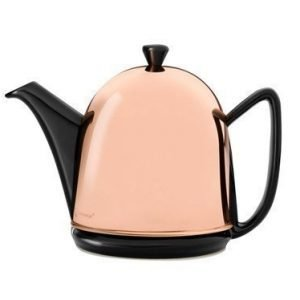 Bastian Cosy Manto Teekannu musta/kupari