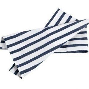 Bastian Hampton Käsipyyhe 50x70cm Sinivalkoraidallinen