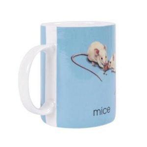 Bastian Ladybird Muki sininen M-mice 34 cl