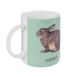 Bastian Ladybird Muki turkoosi R-rabbit