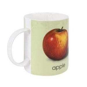 Bastian Ladybird Muki vaaleanvihreä A-appl