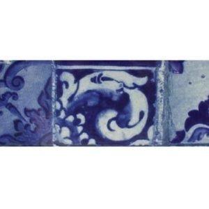 Bastian Lisboa Tarjoiluastia sininen kaakeli