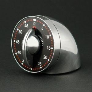 Bengt Ek Design Singel Ajastin 60 Min Kiillotettu Alumiini