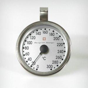 Bengt Ek Design Uunilämpömittari 0 300 °C Ruostumatonta Terästä