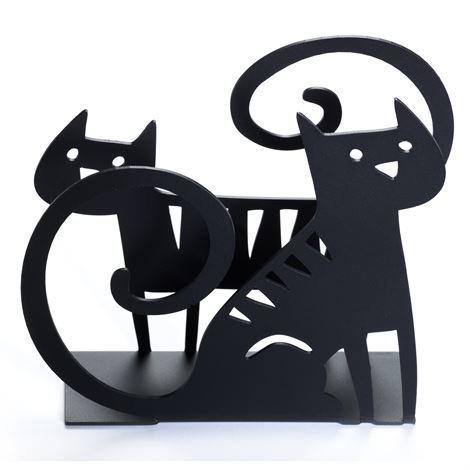 Bengt & Lotta Cat Lautasliinateline Musta