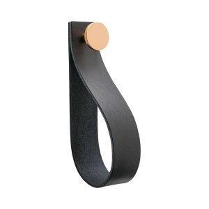 Beslag Design Loop Strap Koukku Musta / Kupari