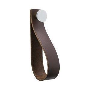 Beslag Design Loop Strap Koukku Ruskea / Kromi