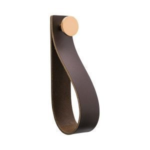 Beslag Design Loop Strap Koukku Ruskea / Kupari